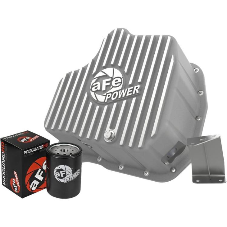 01-10 GM 6.6L Duramax AFE Street Series Deep Engine Oil Pan