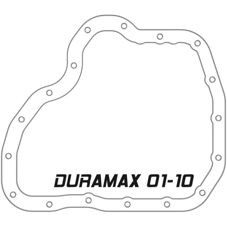 01-10 GM 6.6L Duramax AFE Pro Series Deep Engine Oil Pan