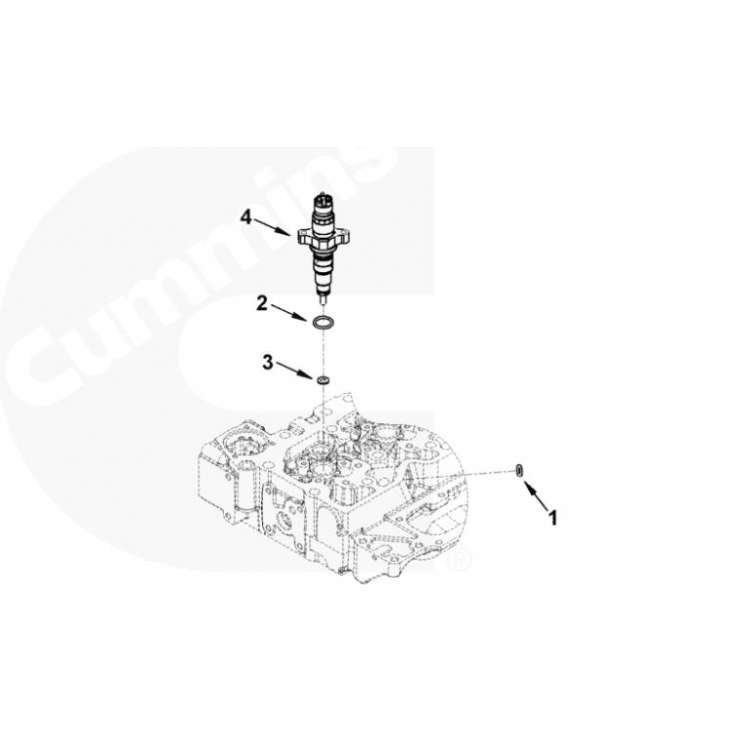 98.5-02 5.9L Dodge Cummins Injector O-Ring Seal Set(6)