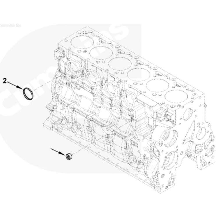 03-2018 Dodge 5.9L & 6.7L Cummins Complete Freeze Plug Kit