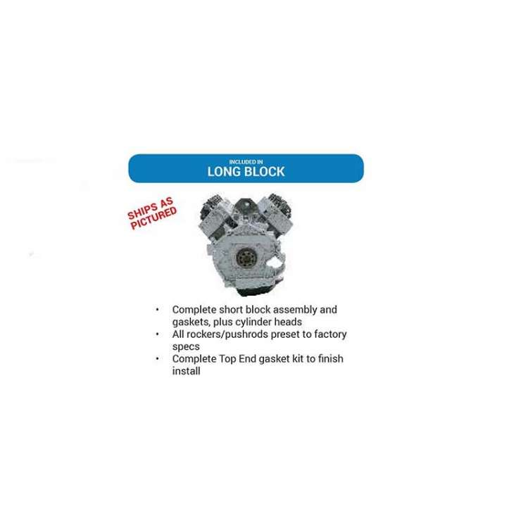 06-07 GM 6.6L LBZ Duramax DFC Remanufactured Street Series Long Block Crate Engine