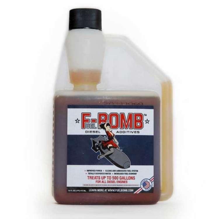 F-Bomb High Performance Diesel Fuel Additive 16oz Bottle