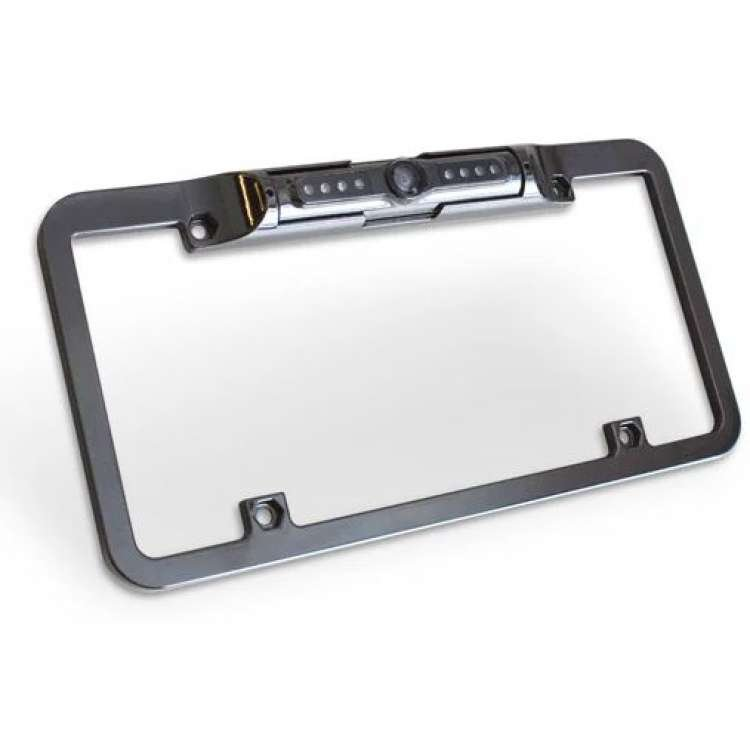 Edge Back Up Camera License Plate Mount for CTS3