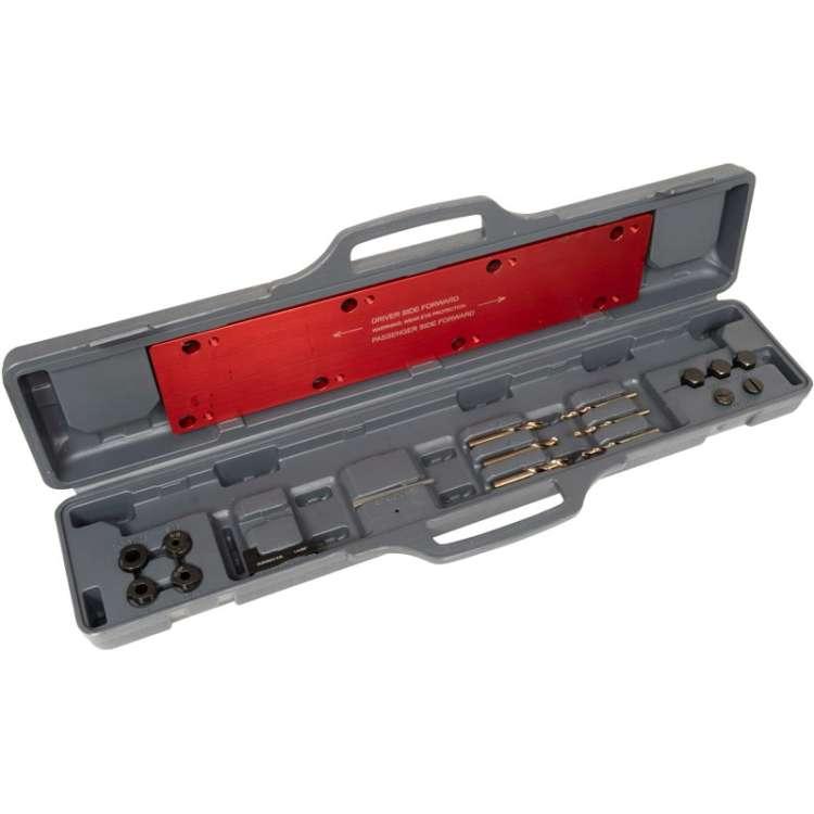 01-16 GM 6.6L Duramax Lisle Exhaust Manifold Bolt Drill Template