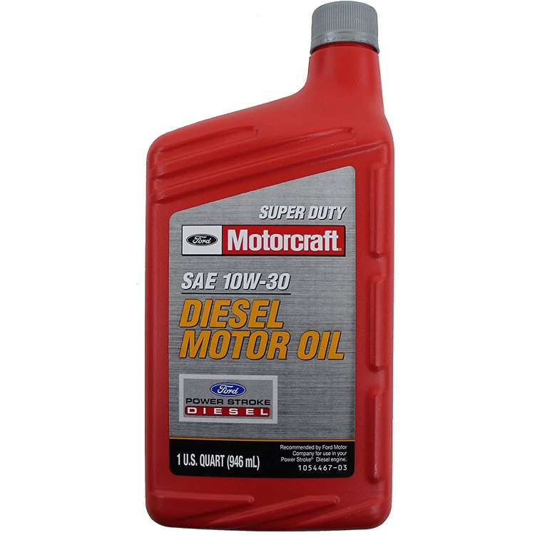 Motorcraft 10W30 Diesel Motor Oil - Quart