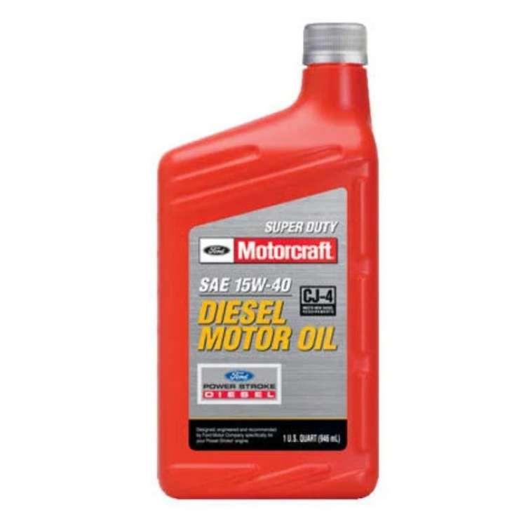 Motorcraft 15W40 Diesel Motor Oil - Quart