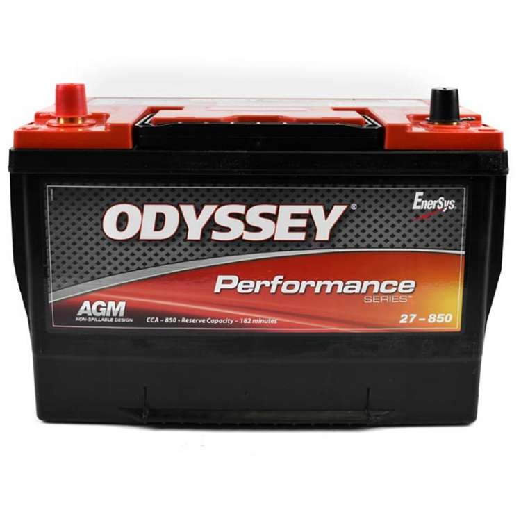 Odyssey Performance Series AGM Battery Group 27, 850CCA