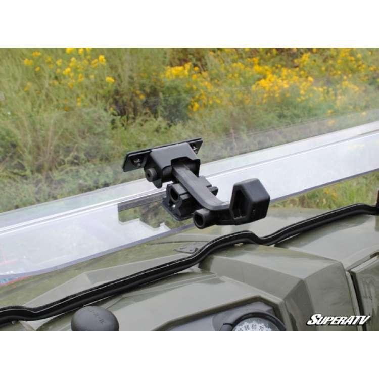 10-16 Polaris Ranger 800 Scratch Resistant Flip Windshield
