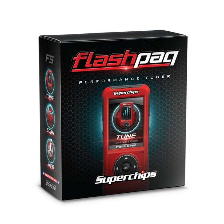 Powerstroke/ Duramax/ Cummins Superchips FlashPaq F5 Tuner (California Edition)