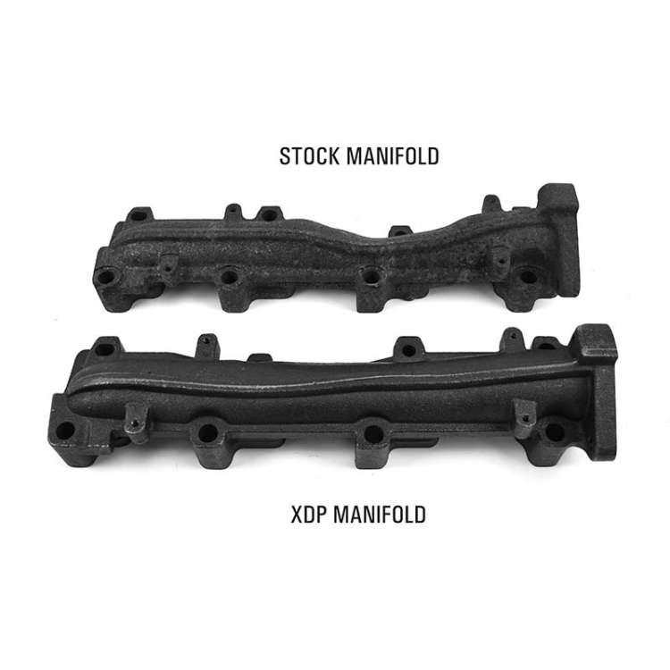 01-16 GM 6.6L Duramax XDP Driver Side High Flow Exhaust Manifold