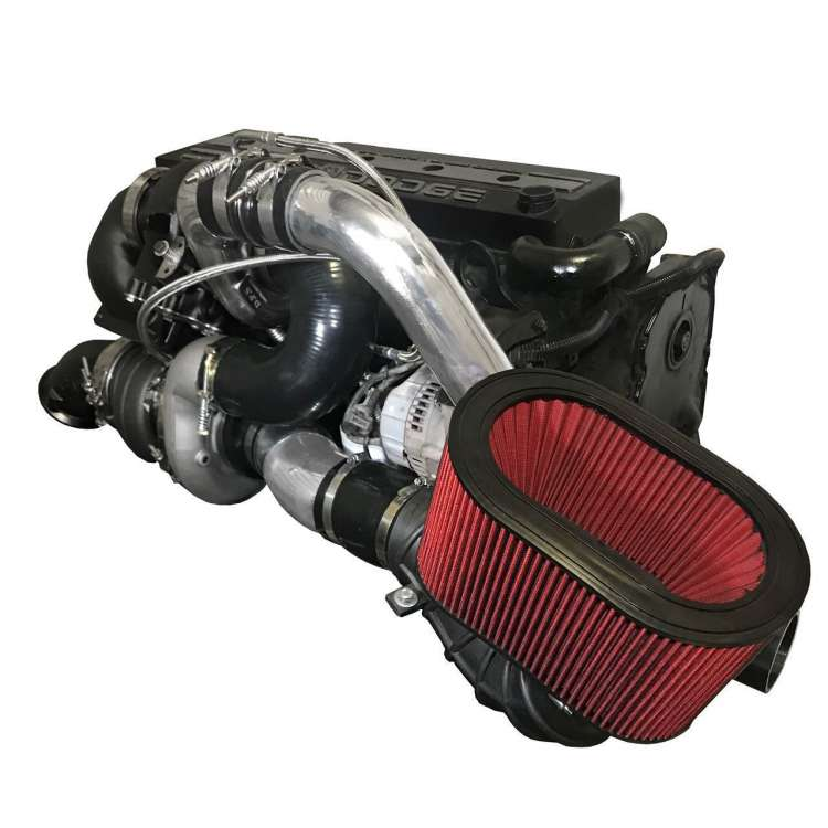 DPS FUMMINS COMPOUND TURBOS FITS FORD CUMMINS CONVERSION