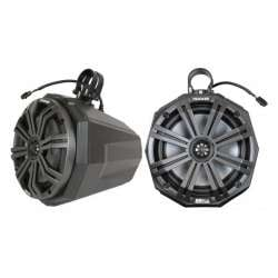 SSV Works Universal Cage Mounted 8 Inch Speaker Pods w/Clamps