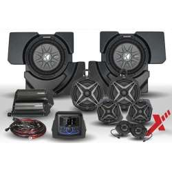 2017+ Can Am X3 Complete Phase X 8 Speaker Plug & Play Audio Kit