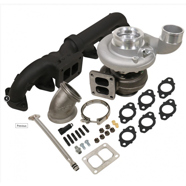 03-07 Dodge 5.9L Cummins BD Iron Horn S369SXE/76 1.0 AR Turbo Kit