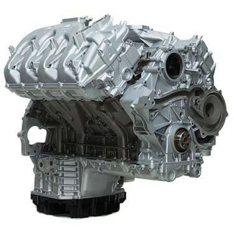 11-16 Ford 6.7L Powerstroke DFC Reman Long Block Crate Engine