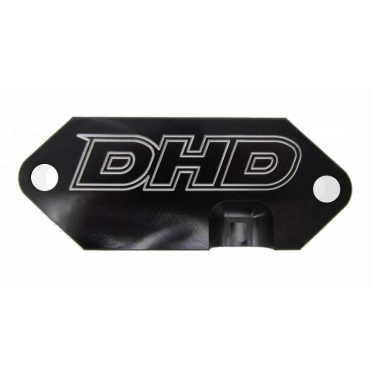 01-16 GM 6.6L Duramax DHD Rear Engine Cover Coolant Block Off Plate