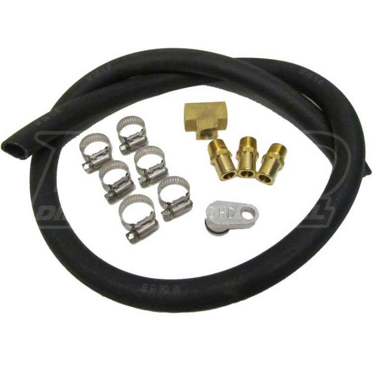 07.5-10 GM 6.6L Duramax DHD Coolant Line Relocation Kit