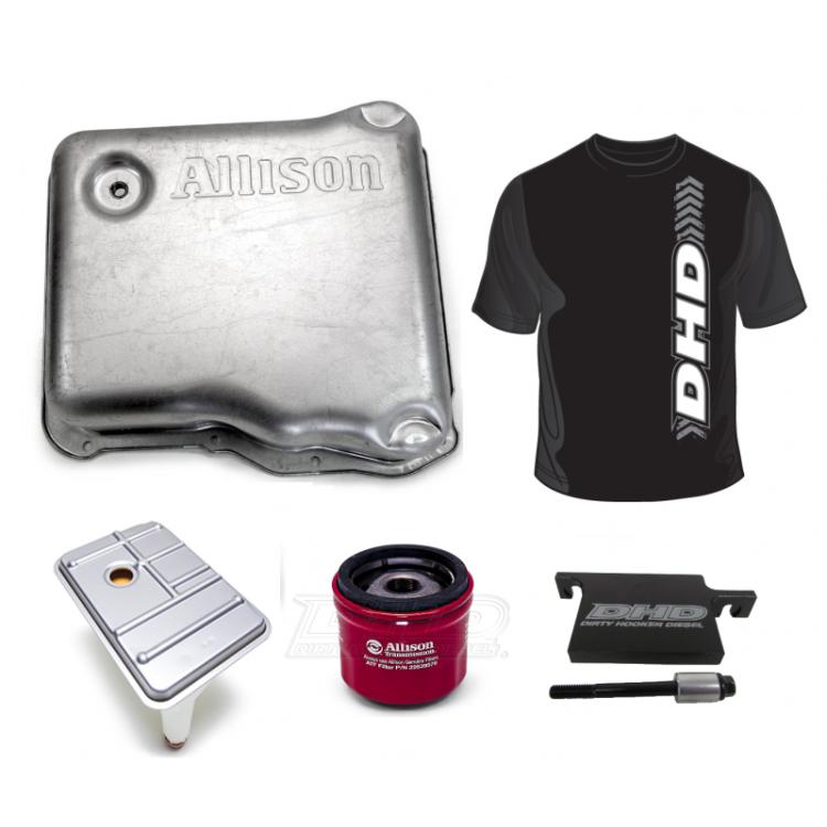 01-19 GM 6.6L Duramax DHD Allison 1000 Deep Pan Kit W/DHD Filter Lock