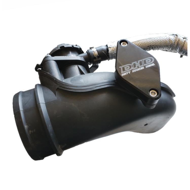 11-16 GM 6.6L Duramax Billet Turbo Resonator Delete Plate