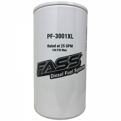 Fass Extended Length Fuel Particulate Filter