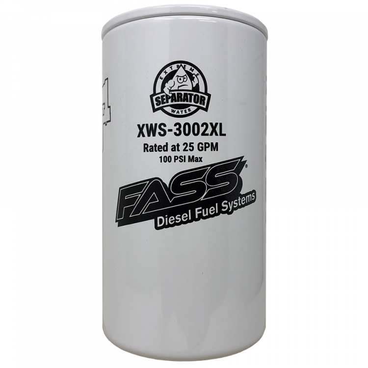 Fass Extreme Series Extended Length Fuel/Water Separator