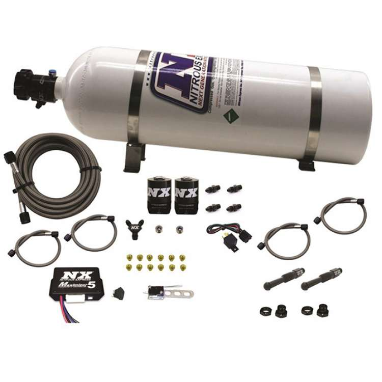 Nitrous Express Dual Stage SX2D Diesel System with Mini Progressive Controller