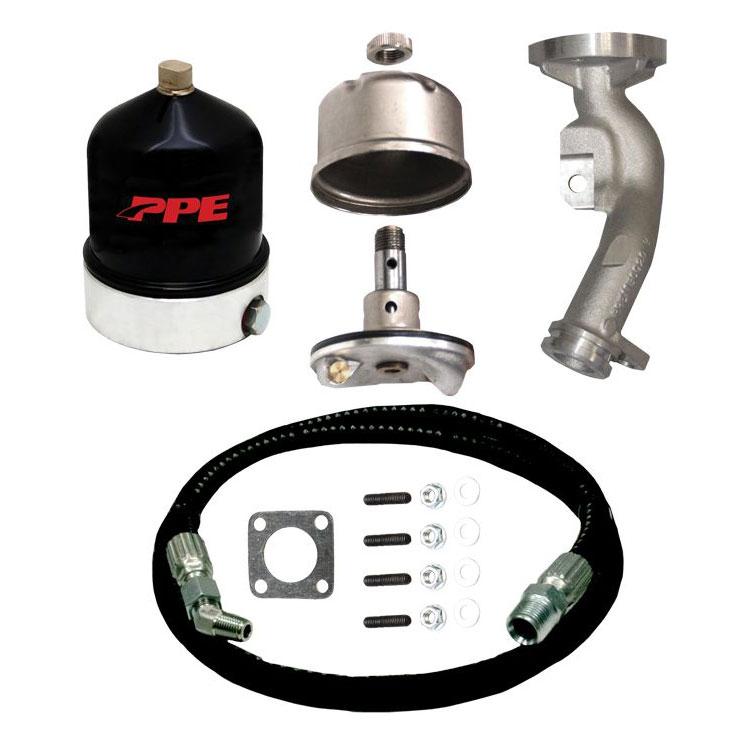 06-10 GM 6.6L Duramax Diesel PPE Oil Centrifuge Filtration Kit