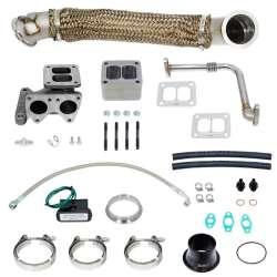 01-10 GM 6.6L Duramax GT42R Series Turbo Installation Kit