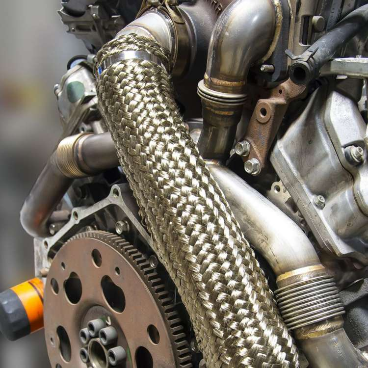 04.5-10 GM 6.6L Duramax PPE 3 In Stainless Down Pipe