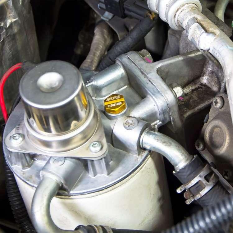 Duramax Diesel Billet Aluminum Air Bleeder Screw