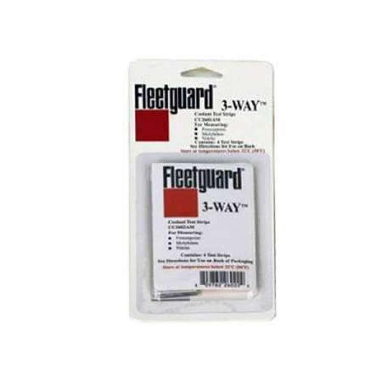 Fleetguard Coolant Test Strips - Single Pack w/4 Strips