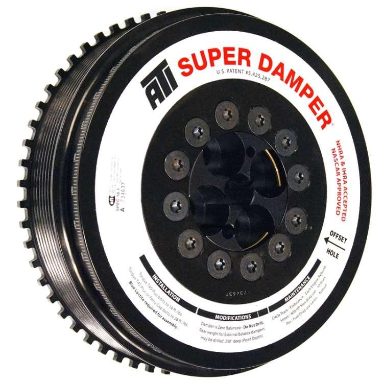 07.5-13 Dodge 6.7L Cummins ATI Super Damper Harmonic Balancer