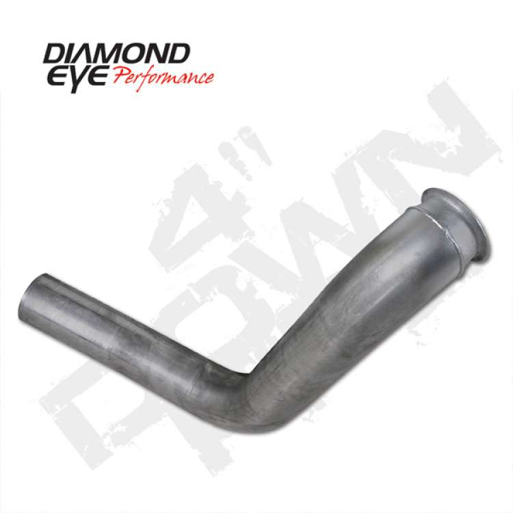 99-03 Ford 7.3L Powerstroke Stainless Diamond Eye 4 In Downpipe