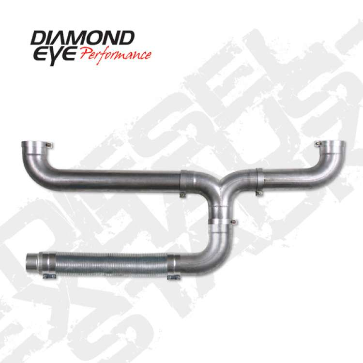 Diamond Eye 5 In Aluminized Universal Stack Dual Kit