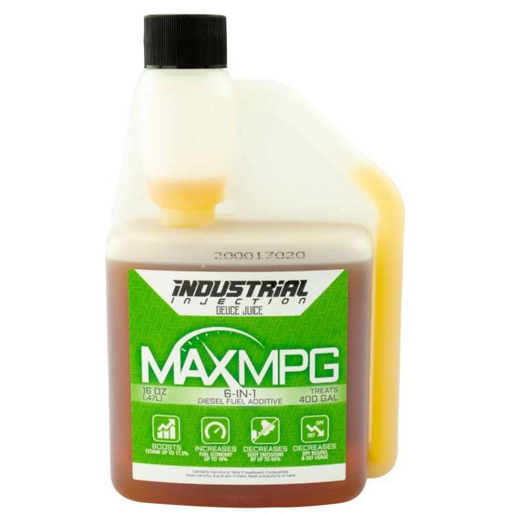Industrial Injection Case of MaxMPG Fuel Additive (All Season) Treats 4800 Gallons