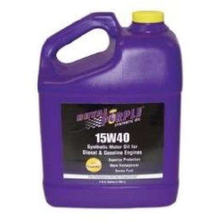Royal Purple Synthetic 15W40 Multi-Grade Engine Oil 1 Gallon Bottle