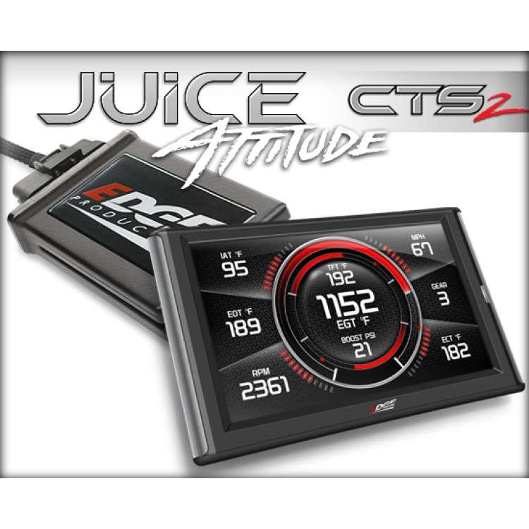07-12 Dodge 6.7L Cummins Edge 31505 CTS2 Juice w/Attitude