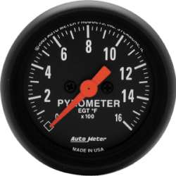Z Series Pyrometer 0-1600 Degrees 2654