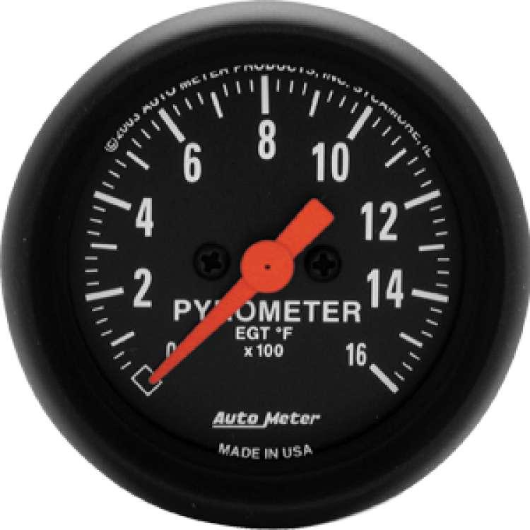 Z Series Pyrometer 0-1600 Degrees 2654