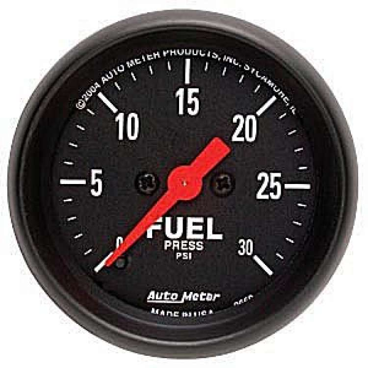 Z Series Electric Fuel Pressure Gauge 0-30 PSI 2660