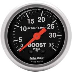 Sport Comp Boost Gauge 0-35 PSI 3304