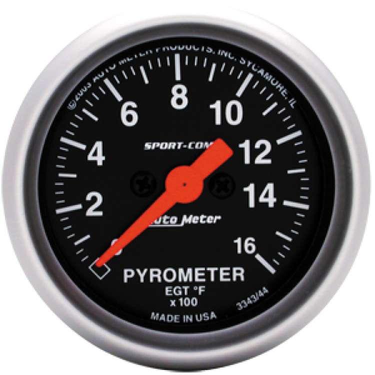 Sport Comp Pyrometer 0-1600 Degrees 3344
