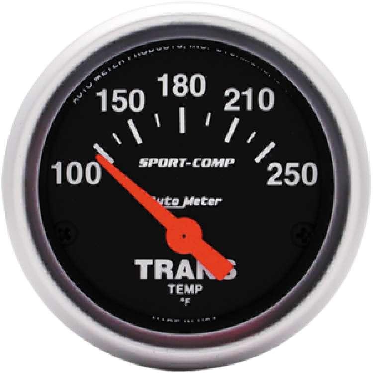 Sport Comp 100º-250º Transmission Temperature Gauge 3357