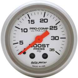 Ultra Lite Boost Gauge 0-35 PSI 4304