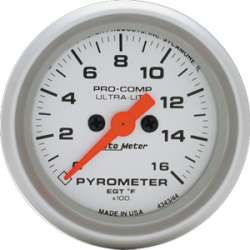 Ultra Lite Pyrometer 0-1600 Degrees 4344