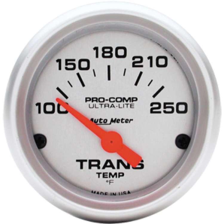 Ultra Lite Transmission Temperature Gauge 4357