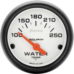 Phantom 100-250º Water Temperature Gauge 5737