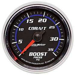 Cobalt Boost Gauge 0-35PSI Non Stepper Motor 6104