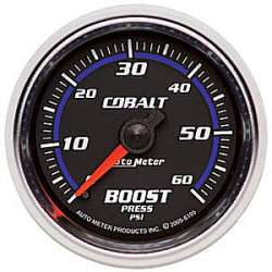 Cobalt Boost Gauge 0-60PSI Non Stepper Motor 6105