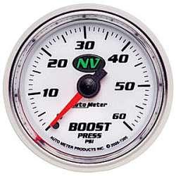 NV Boost Gauge 0-60PSI Non Stepper Motor 7305